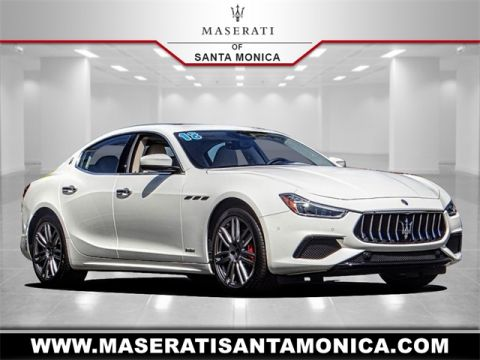 New 2018 Maserati Ghibli GranSport